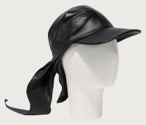 Mütze aus Nappaleder