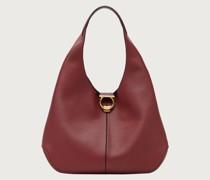 Gancini hobo bag small