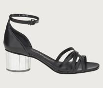 Sandale mit Spiegelabsatz