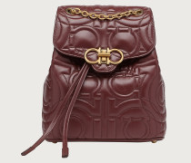 Quilted Gancini backpack medium