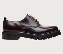 Chunky derby shoe