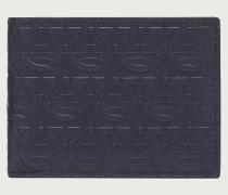 Brieftasche mit Gancini Detail