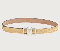 Gancini adjustable belt