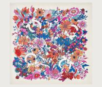 Seidentuch mit Blumen Gancini Print
