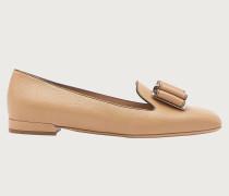 Double bow slipper Beige