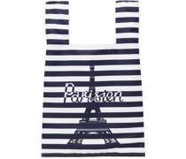& Striped Parisien Tower Tote