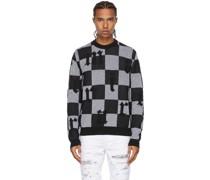 & Jacquard Check Pullover
