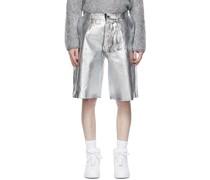 & Foil Shorts