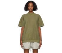 Inside Out Mock Neck Tshirt