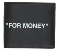 Leather Bifold Quote Brieftasche