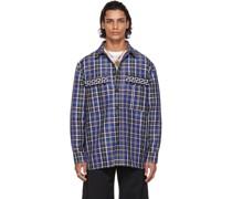 Wool Tartan Hemd / Bluse