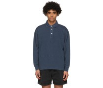 Garment-Dyed Rugby Polo