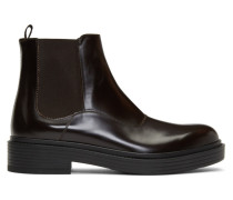 Leather Chelsea Stiefel