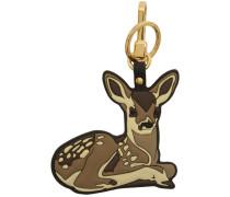 2D Deer Schlüsselbund