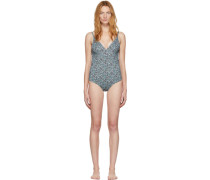 Floral The Plunge One-Piece Badeanzug