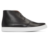 Leather High-Top Sneaker