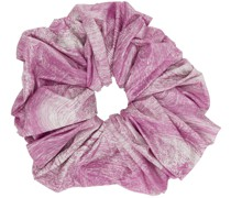 Giant All Over Marble Scrunchie