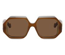 Rectangular Chunky Sonnenbrille