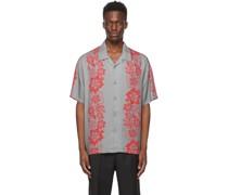Floral Pattern Hemd / Bluse