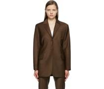 Tropical Wool Menswear Blazer