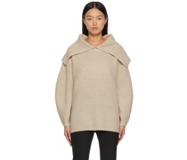 Oversized Fevila V-Pullover