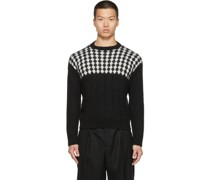 Wool & Mohair Diamond Pattern Pullover