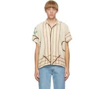Chenille One-Of-A-Kind Short Sleeve Hemd