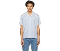 Striped Christophe Short Sleeve Hemd