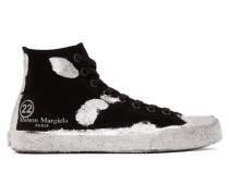 Suede Tabi High-Top Sneaker
