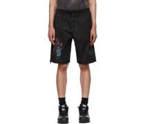 Bruised Krawatte-Dye Bloomer Shorts