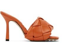 Intrecciato Lido Heeled Sandale