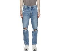 Bullet Vibez Trashed Jeans