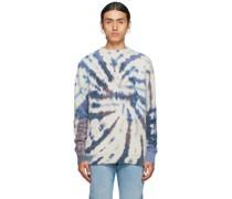 Cashmere Krawatte-Dye Pullover