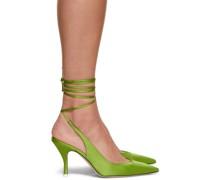 Satin Venus Slingback Heel