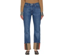 Striped Cuff Marissa Jeans