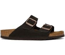 Suede Soft Footbed Arizona Sandale