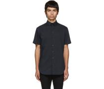 Slim-Fit Plain Shirt