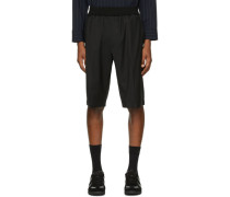 Wool Tapered Short