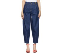 Tapered Mom-Fit Jeans