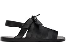Strapped Flat Sandale