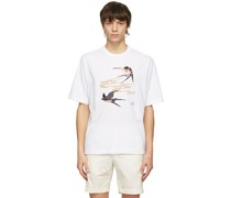 Spring Swallows Relaxed Tshirt