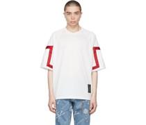 Boxy Jacquard Tape Tshirt