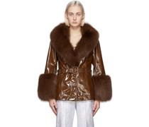 Patent Fur Shorty