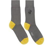Zebra Socke