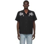 Loop Skull West Coast Short Sleeve Shirt