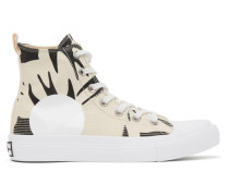 McQ Swallow Plimsoll High-Top Sneaker