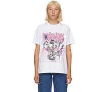 UFO Flower Tshirt