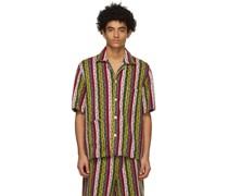 Primary Stripe Short Sleeve Hemd