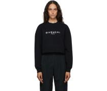 Paris Cropped Sweatshirt