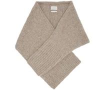 Hand-Knit Sleeve Schal